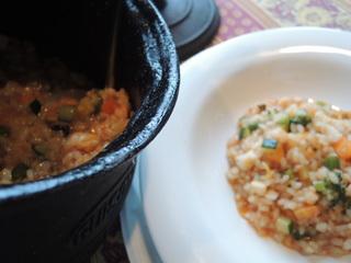 Arroz meloso verdura mariscos2.JPG